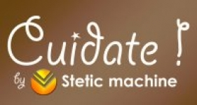 logo Cuidate by stetic machine