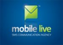 logo MOBILE LIVE sms communication agency